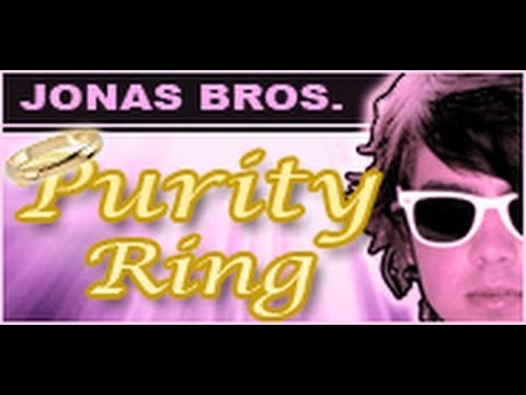 Jonas Brothers Purity Ring- PMS Home Shopping Network