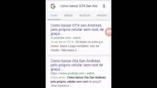 Como baixar e instalar  Gta San Andreas pelo Samsung Galaxy J1?