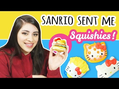 Sanrio Sent Me Squishies?! | My First Squishy Package