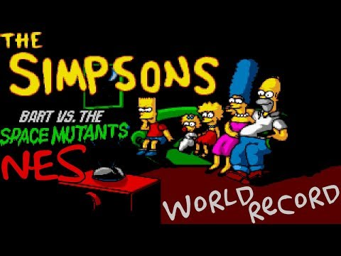 [World Record] The Simpsons: Bart vs. the Space Mutants in 16:38 (NES)