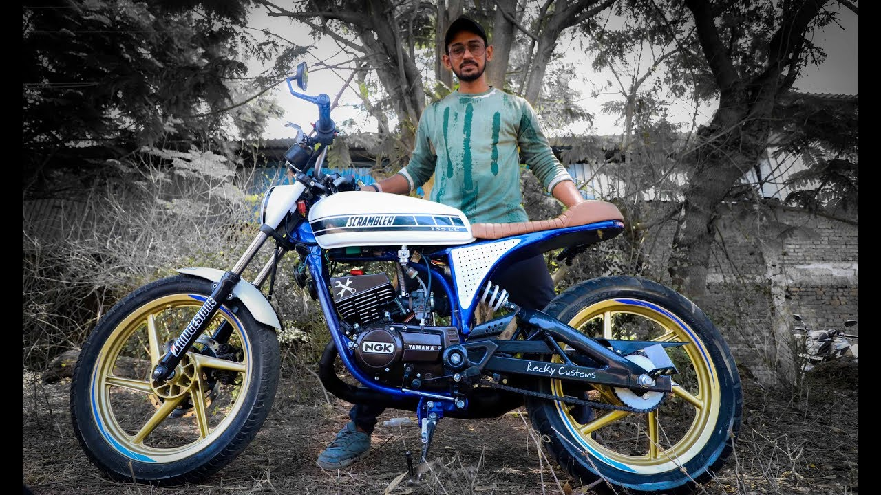 YAMAHA RX 100 & 135 Modified Ducati Scrambler | BSB VLOGS