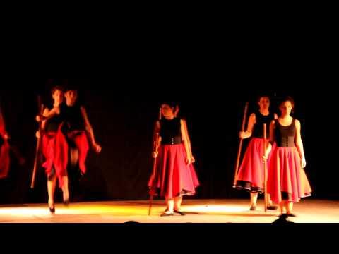 21464 Ibarrako Alurr Dantza Taldea, 2012ko Sanlontzo Festetan Berastegin.