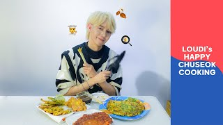 Happy Chuseok Cooking with LØUDI 🧑🍳🍳