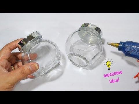 Super Easy and Awesome idea with seasoning jar| Souvenir idea| Best reuse idea