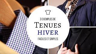 3 IDÉES DE TENUES HOMME POUR L'HIVER