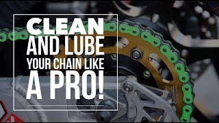 How to clean & lube your motorcycle chain: Is petrol or WD40 safe?