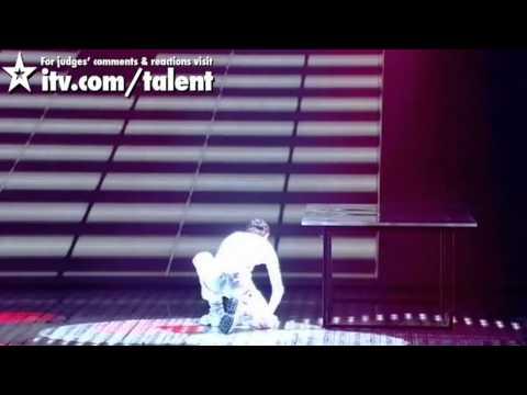 Видео: Razy Gogonea - Britains Got Talent Live Final - itv.comtalent - UK Version