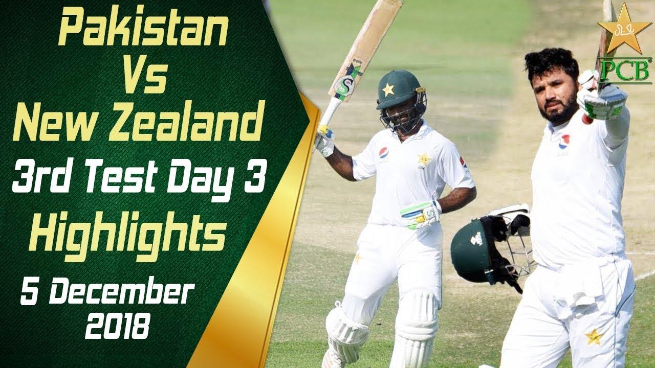 pakistan-vs-new-zealand-highlights-3rd-test-day-3-5-december-2018-pcb