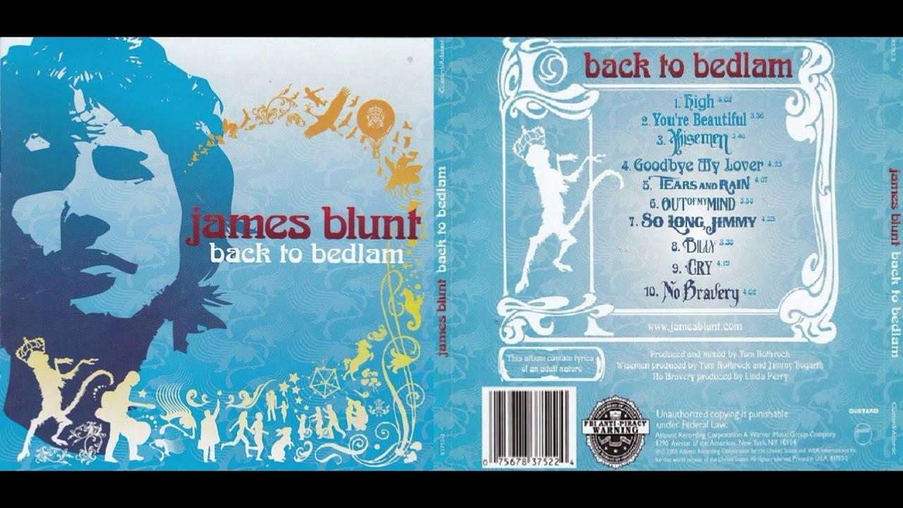 James Blunt Back To Bedlam Album 2004 Youtube