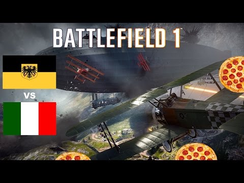 "Battlefield 1 ""Kingdom Of Italy Vs Austro Hungarian Empire"""