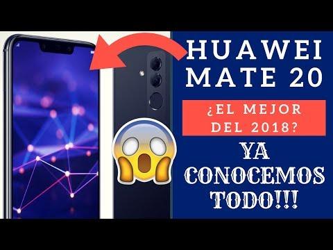 HUAWEI MATE 20, MATE 20 PRO y MATE 20 LITE - ¡¡YA CONOCEMOS TODO!!   Características y Precio