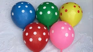5 Wet Colours Balloons