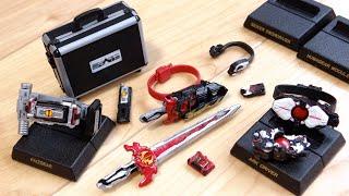 令和にファイズギアボックス(フル装備)が商品化!1回300円 仮面ライダーコレクション02 全種レビュー!アークドライバー・聖剣ソードライバー・暴走Verヒューマギアモジュール