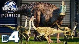 FILL IT WITH HERBIVORES!!! - Jurassic World Evolution - HARD CHALLENGE MODE | Ep4 HD