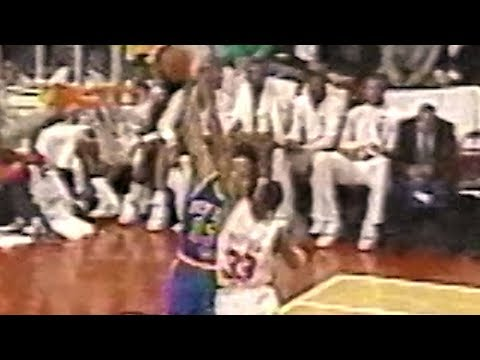 Mark Jackson Posterized Scottie Pippen (1991.04.09)