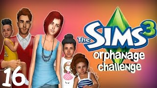 Let's Play The Sims 3: The Orphanage Challenge (Part 16) - AGING UP