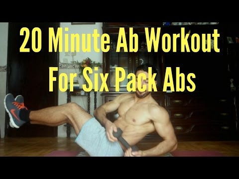 20 Minute Ab Workout For Six Pack Abs