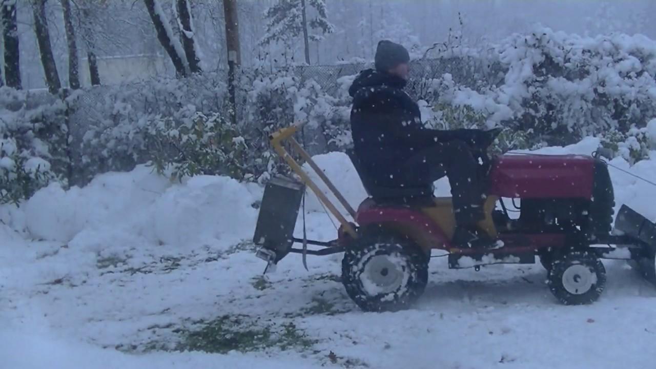 Murray Lawn Mower Diy Multipurpose Conversion Snow Plow