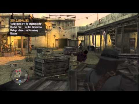 Red Dead Redemption: Fort Mercer Social Club Challenge