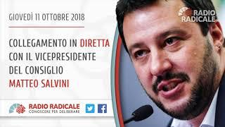 Manovra economica e Decreto sicurezza: intervista a Matteo Salvini