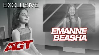 Singer Emanne Beasha Is Thrilled About Simon Cowell's Approval! - America's Got Talent 2019