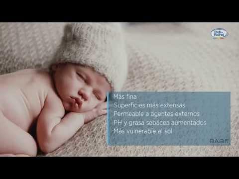 Características de la piel del bebé y el niño | Curso de primeros cuidados del bebé