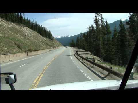 Colorado. US-40 Berthoud Pass