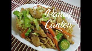 Pansit Canton (Noodles Recipe)