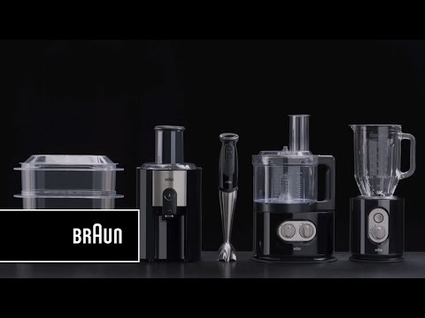 Braun IdentityCollection Food processor, FP 5150 - Compact.  Intelligent.  Strong