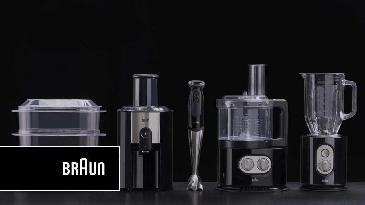 Braun IdentityCollection Food processor, FP 5150 - Compact. Intelligent.  Strong   Introduction - YouTube