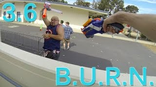 Nerf War Gameplay | Rough Cut 2x4 | B.U.R.N. Season 3 Round 6 | 60FPS