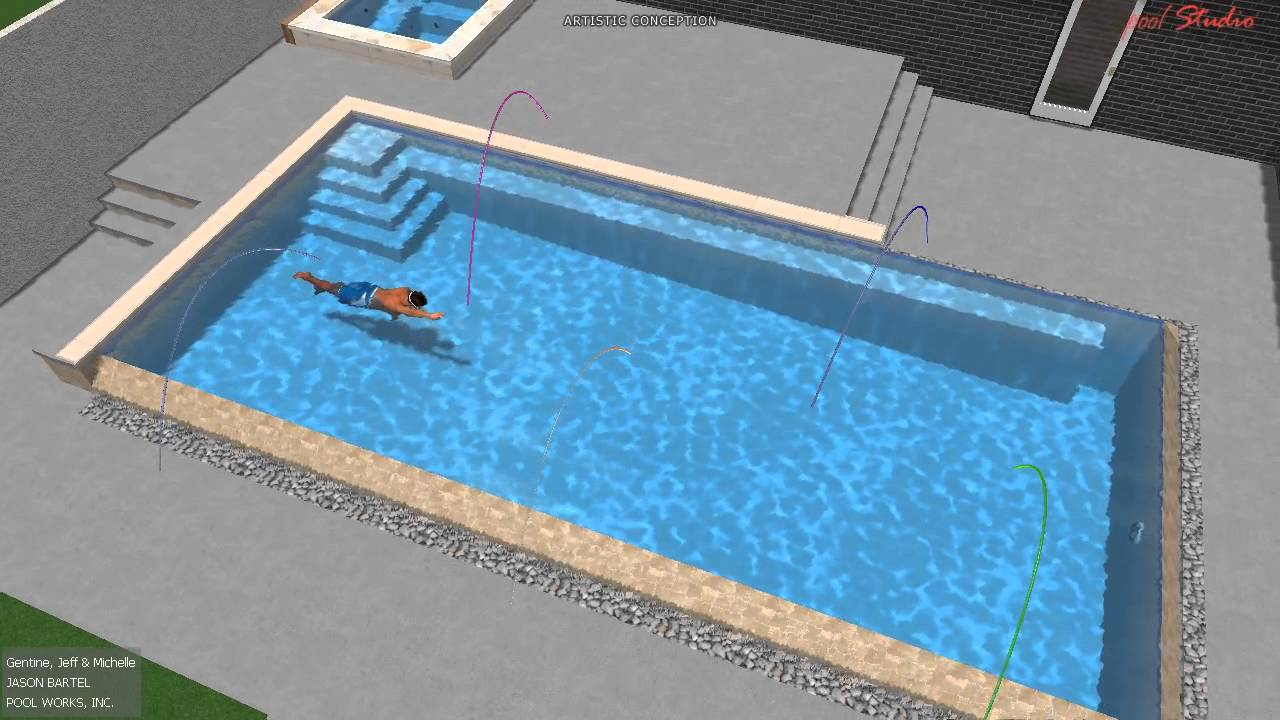 Pool Studio 3D Swimming Pool Design YouTube