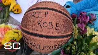 Kobe Bryant honored by fans outside of his former high school | SportsCenter