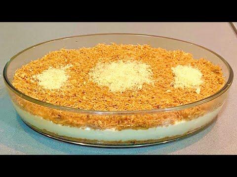 kunafa-recipe-|-easy-method-|-vermicelli-dessert-|-sweets-|-semiya-custard-|-turkish-delights