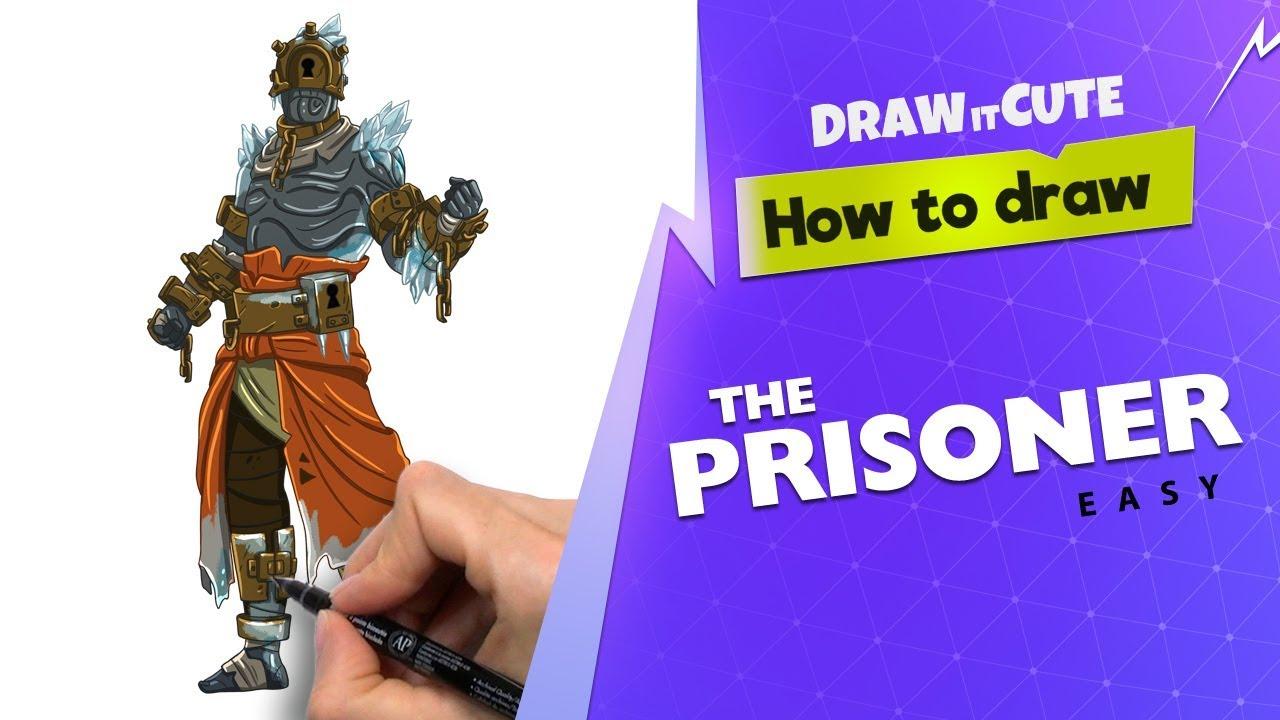 How To Draw Fortnite Prisoner