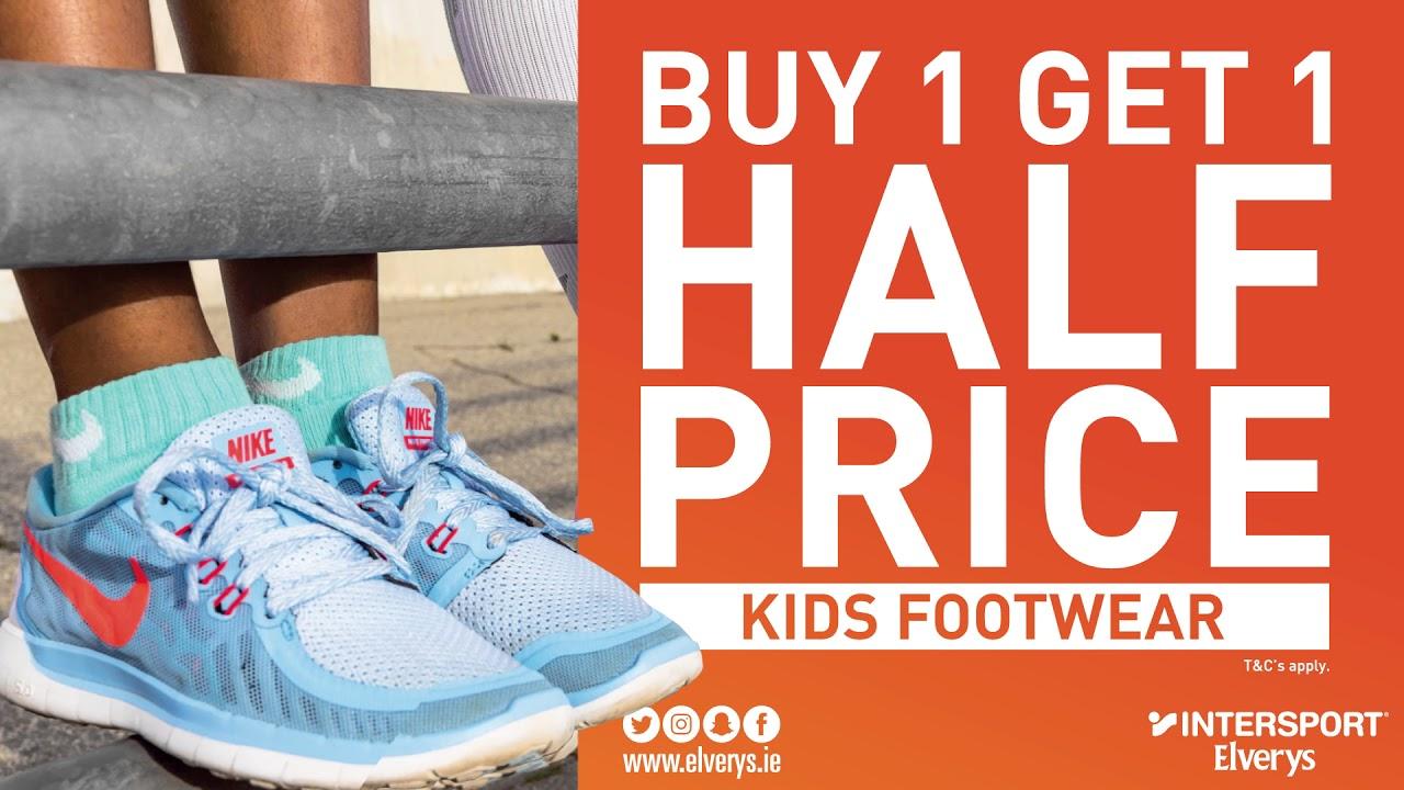 Half Price Kids Footwear