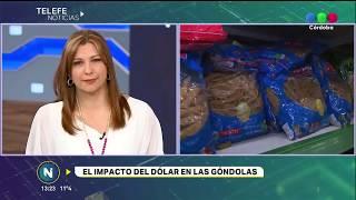 LOS PRECIOS EN LOS SUPERMERCADOS TRAS LA SUBA DEL DÓLAR