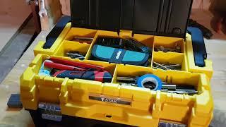 Обзор Dewalt tstak l ящик для инструмента