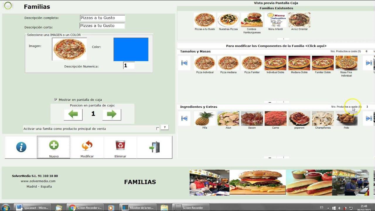 Software Tpv Para Restaurantes De Comida Rápida Fastfood