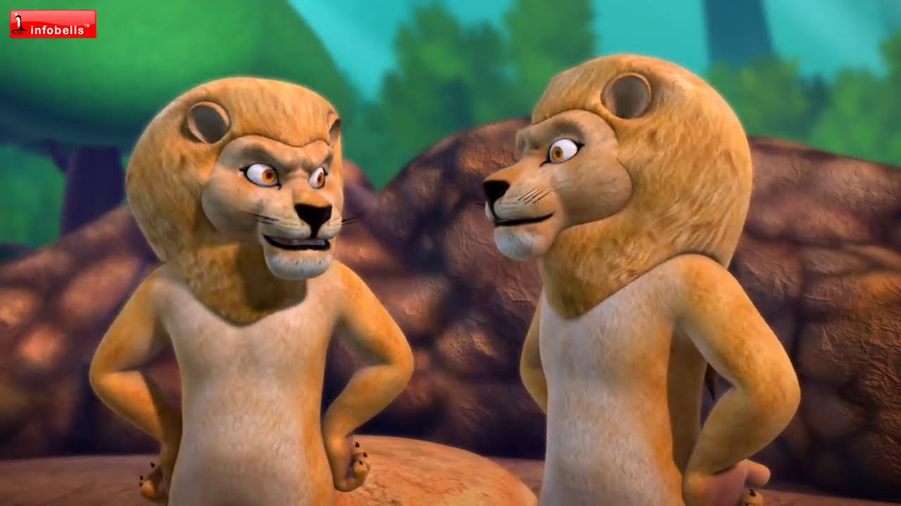 The Blue Fox Hindi Stories for Kids | Infobells