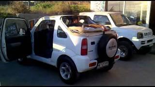 Tenta Gia Suzuki Jimny Xwris Koympia H Fermoyar Kazanis Garage