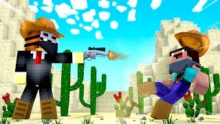 Minecraft - HACKER COWBOY SHOOTS THE NOOB SHERIFF! Video