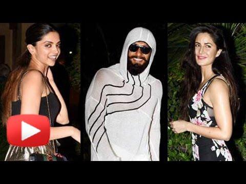 Ranveer Singh DITCHES Deepika Padukone, Parties With Katrina Kaif | Shahid Kapoor Birthday Bash