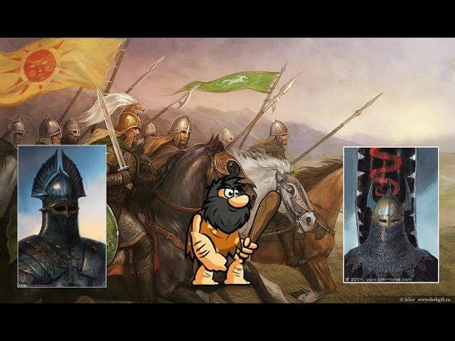 Кто были предками Рохиррим? История создания королевства Рохан.