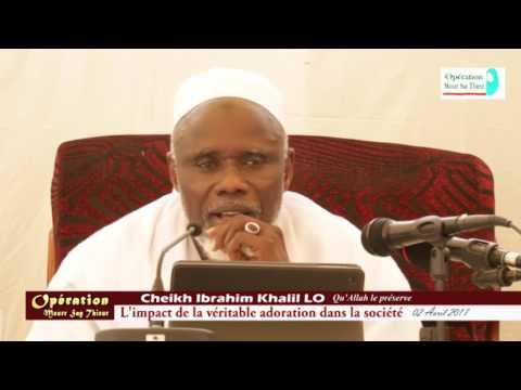 Conférence de Cheikh Ibrahima Khalil LO (H.A) à Thiaroye