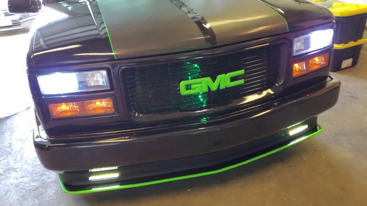 Diy Fog Light Mod On The 95 C1500 Obs Gmc Youtube