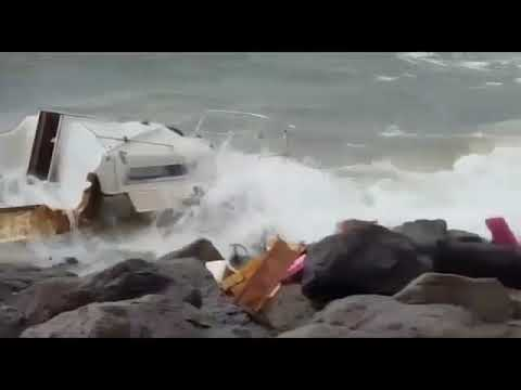 Hurricane Irma Hard Wind  Rain hit Puerto Rico  Martinique  St Kitts   Surrounding Islands