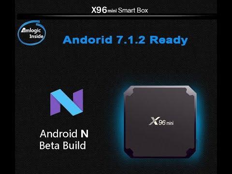 X96  mini TV Boxe Test en Fr