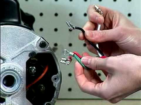 How to Change the Spa Motor Cord - YouTube