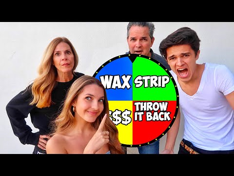SPIN THE DARE WHEEL CHALLENGE W/ FAMILY!!